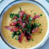 soupe de potimarron jambon