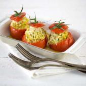 tomates farcies végétarienne au riz