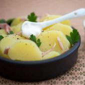 salade de pomme de terre à la crème