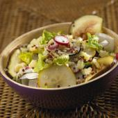 salade quinoa fruit fromage