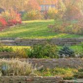 jardin en pente