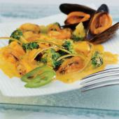 Ragout de moules au curry